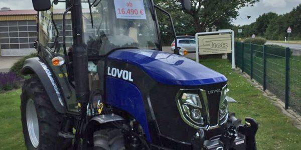 Stotz Agrartechnik ist jetzt LOVOL-Händler