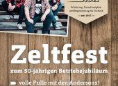 Zeltfest: Wir wollen feiern!